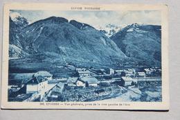 EPIERRE (SAVOIE), Vue Générale Prise De La Rive Gauche De L'Arc - Autres Communes