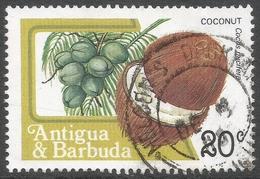 Antigua. 1983 Fruits And Flowers. 20c Used. SG 799 - Antigua And Barbuda (1981-...)