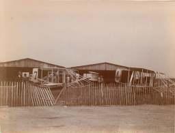 090417 - Photo AVIATION Grande Semaine D'Aviation De La Champagne 22 - 29 Août 1909 - Les Wright N°7 Comte De Lambert - ....-1914: Précurseurs