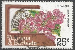 Antigua. 1983 Fruits And Flowers. 25c Used. SG 800a - Antigua And Barbuda (1981-...)