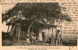 HAITI - Environs De PORT AU PRINCE - KUISKOFF - Case - Paysans - Très Bon état - 2 Scans - Cartes Postales