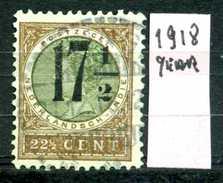 OLANDA - HOLLAND - Nederlandsch  Indie - Year 1918- Usato - Used. - Indie Olandesi