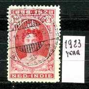 OLANDA - HOLLAND - Nederlandsch  Indie - Year 1923- Usato - Used. - Niederländisch-Indien
