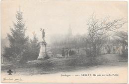 DORDOGNE - 100 -  SARLAT UN COIN DU JARDIN PUBLIC - Sarlat La Caneda