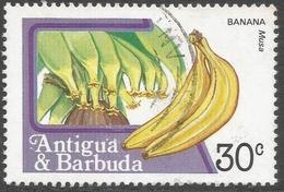 Antigua. 1983 Fruits And Flowers. 30c Used. SG 801 - Antigua And Barbuda (1981-...)