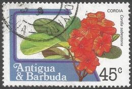 Antigua. 1983 Fruits And Flowers. 45c Used. SG 803a - Antigua And Barbuda (1981-...)