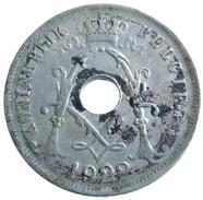 1922 - Belgium 25 Centimes - (NLD) - KM# 69 - 05. 25 Centesimi