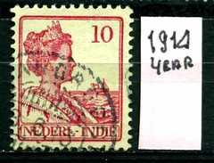 OLANDA - HOLLAND - Nederlandsch  Indie - Year 1914- Usato - Used. - Indes Néerlandaises