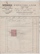 Factures Nestor Flémal&Fils Imprimerie De La Poste Chamount Gistoux En 1922 - 1900 – 1949
