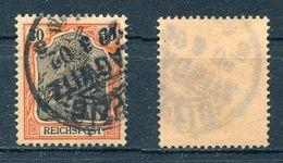 Deutsches Reich Michel-Nr. 59 Gesrtempelt - Deutschland