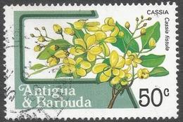 Antigua. 1983 Fruits And Flowers. 50c Used. SG 802 - Antigua And Barbuda (1981-...)