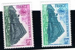 France .....   Yvert ...  Service ....  58/59  .......  ** ..... Neuf ** - Ongebruikt