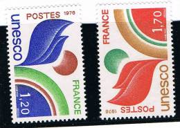 France .....   Yvert ...  Service ....  56/57   .......  ** ..... Neuf ** - Officials