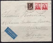 España 1936. Canarias. Carta De Tenerife A Bruselas. Censura. - Marcas De Censura Nacional