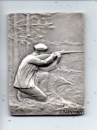 Médaille . BAYONNE - BIARRITZ 1912 . XIXe CONCOURS NATIONAL DE TIR . GRAVEUR FELIX RASUMNY - Réf. N°5M - - Sports