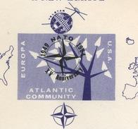 NATO OTAN 1964  15 Anniversary  USA Help To Build A New Europe - Europäischer Gedanke