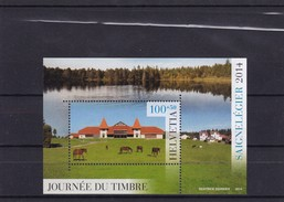 2014.Tag Der Briefmarke   SBK 102** - Blocchi & Foglietti