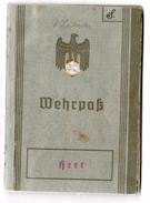 WEHRPASS Allemand 1er Modèle 1937 - Documenti