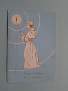 Plechtige Heilige Communie Claudine Falkenburg LONDERZEEL 23 Avril 1967 (80 MUC 521-1) Zie Foto´s ! - Menus