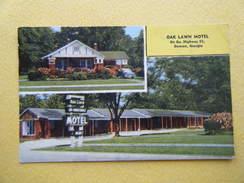 DOWSON. Le Oak Lawn Motel. - Etats-Unis