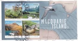 Australian Antarctic Territory  MS6 2010 Macquarie Islands Miniature Sheet Used - Used Stamps