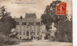 Feneu.. Le Château De Sautré - France