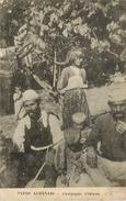Types Albanais ; Campagne D'orient Guerre 1914 1918 - Albanie