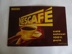 Portugal Nescafé Nestlé Plaque Publicitaire Pour Exposants 1964 Advertising Plate For Exhibitor - Enseignes