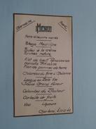 Germaine & Franz - 30/12/1942 ( ? Huwelijk ? ) Zie Foto´s ! - Menus