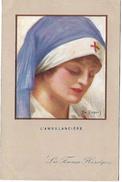 Les Femmes Héroiques - L'Ambulancière - Illustrateur Emile DUPUIS - 39 - Dupuis, Emile