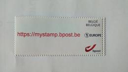 """Belgique 2017: """" Mystamps Pour L'Europe """" état Neuf - Belgique"""