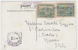 Tasmania 2x 1/2d Auf AK - 1906    (170408) - 1853-1912 Tasmania