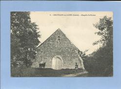 Châtillon-sur-Loire (45-Loiret) Chapelle St-Hubert 2 Scans 02/02/1910 Vaches - Chatillon Sur Loire