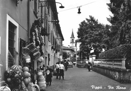 VIGGIU' (VA) - VIA ROMA - F/G - V: 1960 - ANIMATA - Varese