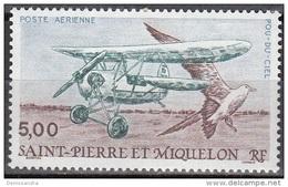 Saint-Pierre Et Miquelon 1990 Yvert Poste Aérienne 69 Neuf ** Cote (2015) 2.30 Euro Le Pou-du-Ciel - Neufs