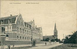 AK Alpen Niederrhein Rhein, Kath. Krankenhaus, O 1921 (23244) - Duitsland