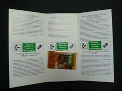 SOUTH AFRICA - Complimentary - The Card That Gets You Talking - In Folder - Mint Blister