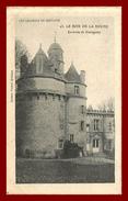 Théme Chateau  *  Guingamp  Coadout   *  Chateau Du Bois De La Roche     ( Scan Recto Et Verso ) - Autres Communes