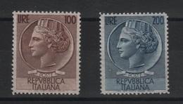 1954 Italia Turrita Serie Cpl MNH - 1946-60: Nuovi