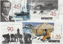 Australian Antarctic Territory  ASC 118-121 1999 Mawson's Huts Set MNH - Unused Stamps