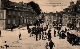 FRESNAY-sur-SARTHE - Concours De Gymnastique Du 10 Juillet 1921 - Le Défilé - France