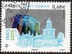 Oblitération Cachet à Date Sur Timbre De France N° 4984 - Saint Gobain - France