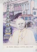Papi Pope Papa Giovanni Paolo II Viterbo Visita Pastorale  Città Dei Papi - Papi