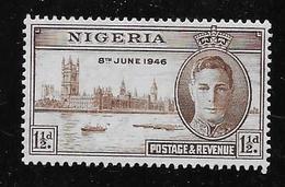 NIGERIA,  1946, MNH # 71   PEACE ISSUE  MNH - Nigeria (1961-...)