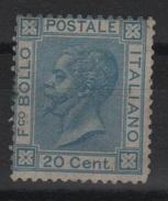 1867 Vittorio Emanuele II 20 C. MNH - 1861-78 Victor Emmanuel II.