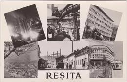 RESITA - Multiviews--Bus,Buildings- Unused -perfect Condition-around 1960 - Roemenië