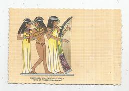 Cp , Arts , Peintures & Tableaux , Musiciennes De Thebes , Ed : O.C.B. , N° 1008 , Vierge - Paintings