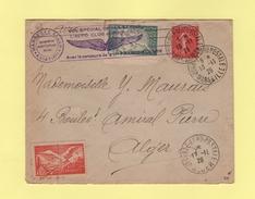 Vol Special Marseille Alger - Journee Aeropostale Marseille - 13-11-1926 - Marcophilie (Lettres)