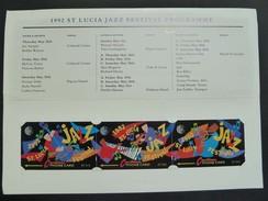 SAINT LUCIA - Puzzle Set Of 3 - 8CSLA To C - Mint In Folder - Saint Lucia