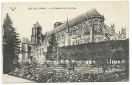 LOT DE 7 CPA BOURGES CHER / CATHEDRALE PALAIS JACQUES COEUR - Bourges